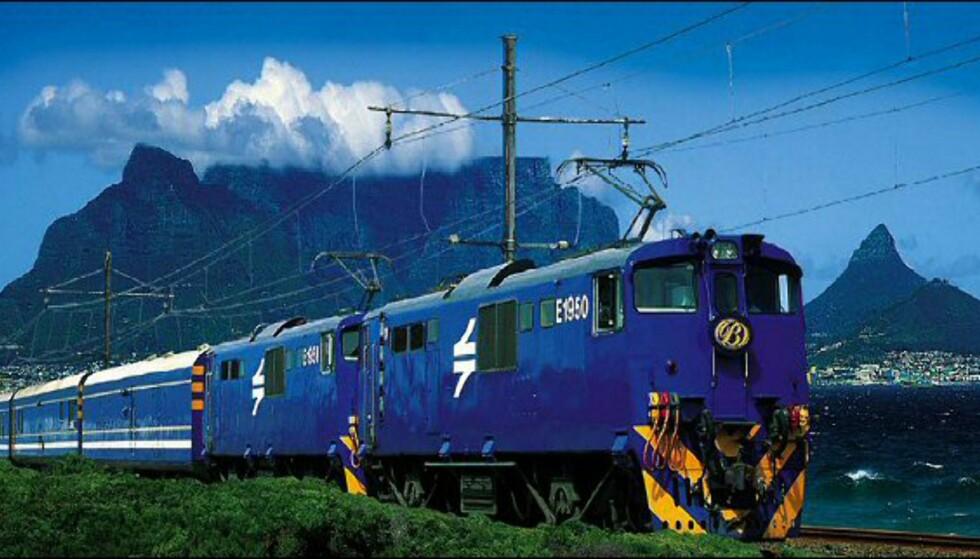 Blue Train regnes for å være et av verdens mest luksuriøse togselskap.