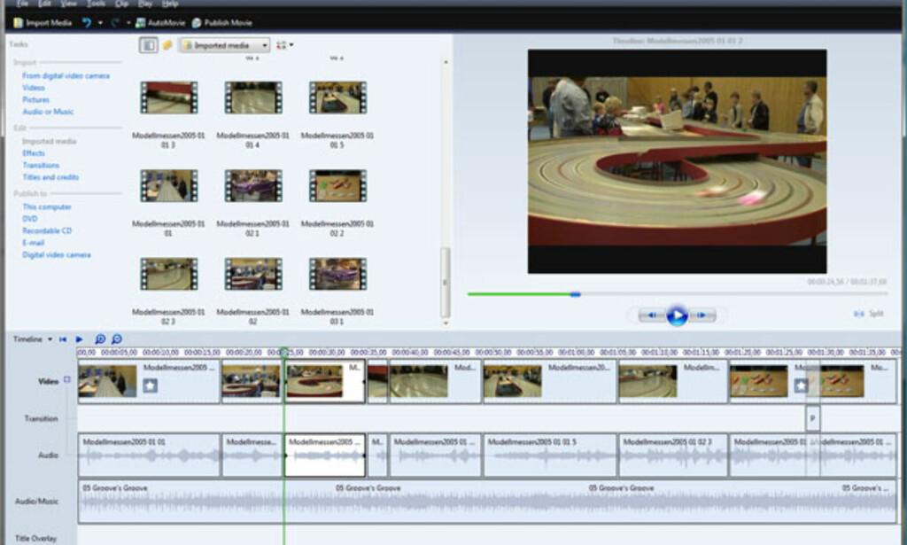 image: Windows Movie Maker (Vista)