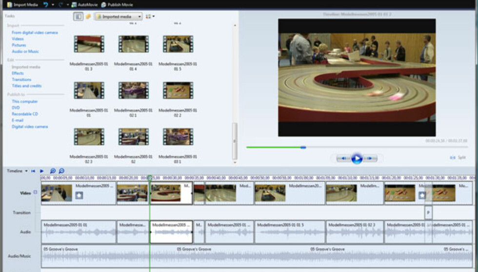 Windows Movie Maker (Vista)