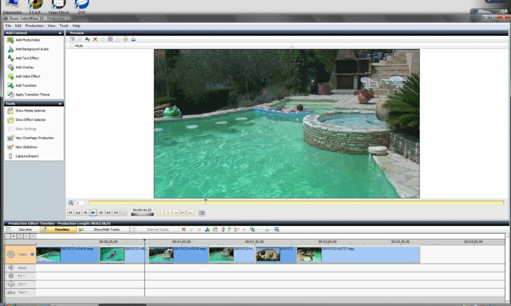 image: Roxio Easy Media Creator 10