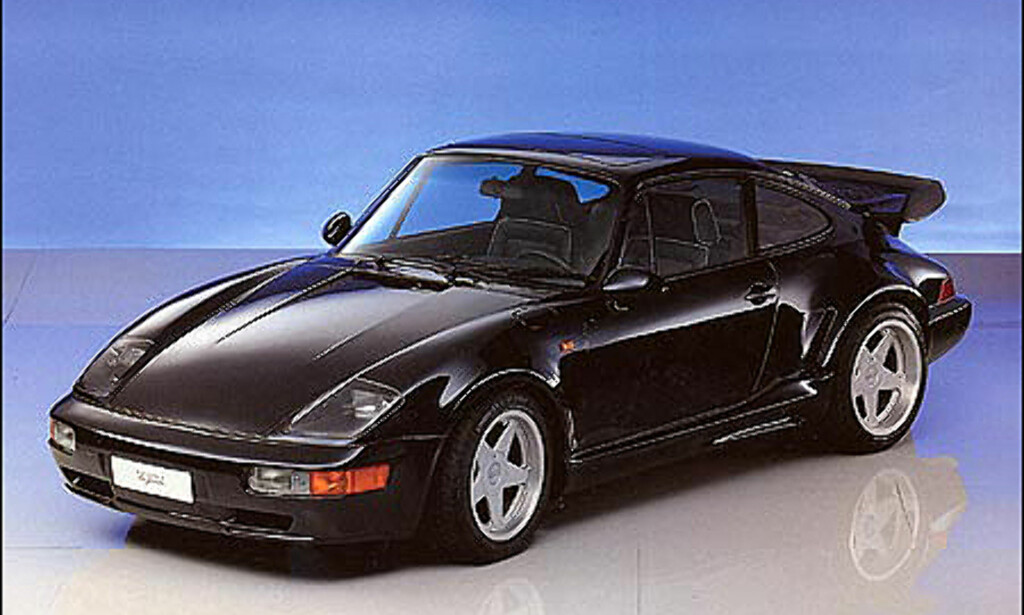 1992: Flat Nose basert på 911 turbo