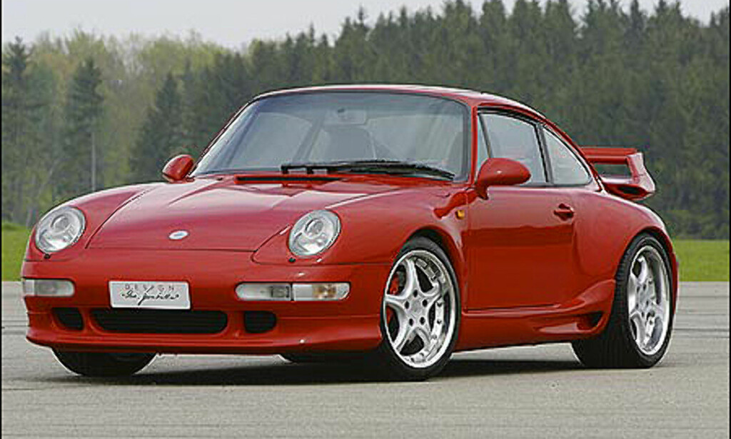 1993: Biturbo - basert på 911 turbo