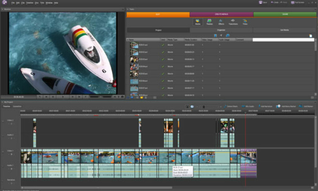 image: Adobe Premiere Elements 4.0