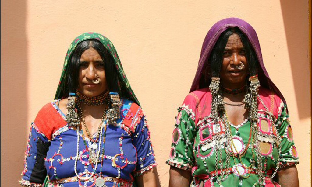 Kvinner fra Karnataka. Foto: Haakon F. Stenersen