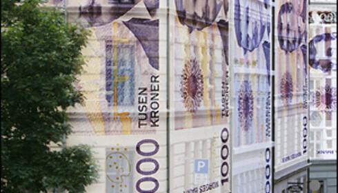 En norsk leilighet på 70 kvadratmeter koster i snitt 2,1 millioner kroner i dag. Bildeillustrasjon: Per Ervland.