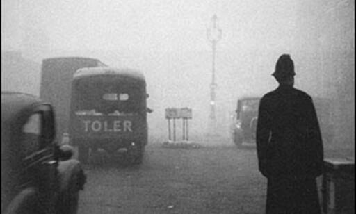 Dødsskyen sniker seg innover London i 1952.