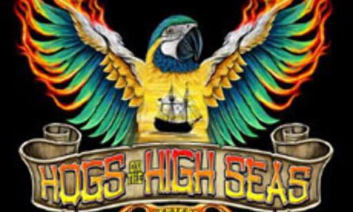 Hogs til sjøs - svin til havs ...  Foto: Hogs on the High Seas