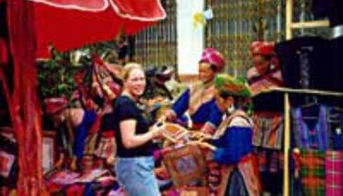 Prutemarked i Vietnam Foto: Kristin M. Bjerkestrand