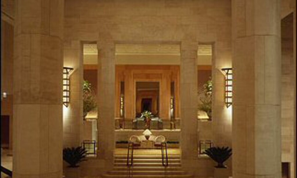 Grandios inngang til hotellets resepsjon. Foto: Four Seasons New York
