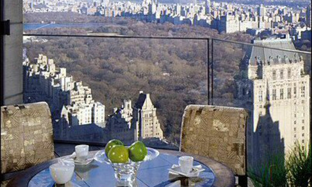 Frokost med utsikt over Central Park. Foto: Four Seasons New York