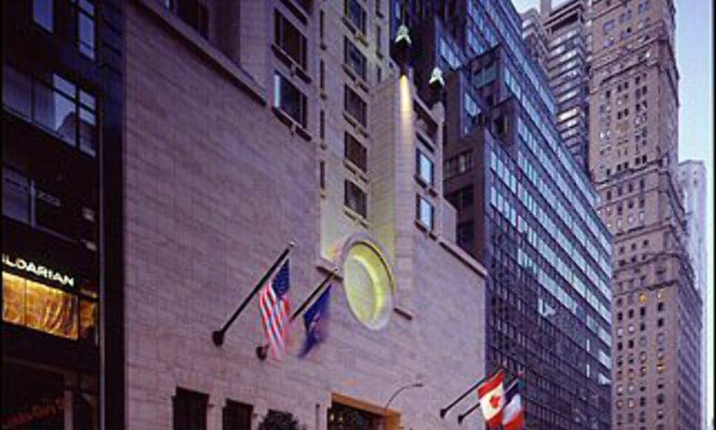 Four Seasons er et av new Yorks mest fasjonable hoteller. Foto: Four Seasons New York