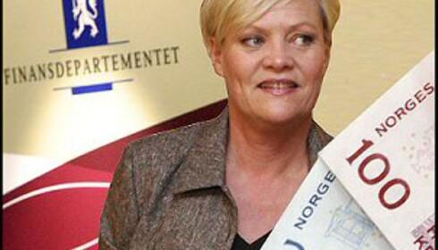Hvem får, og hvem må gi? Svarene kommer i dagens statsbudsjett for 2008. Bilde: Per Ervland.