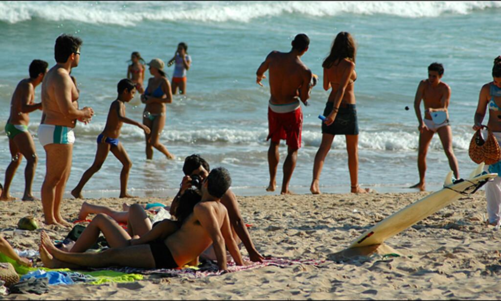 Strandliv i Brasils jet set metropol