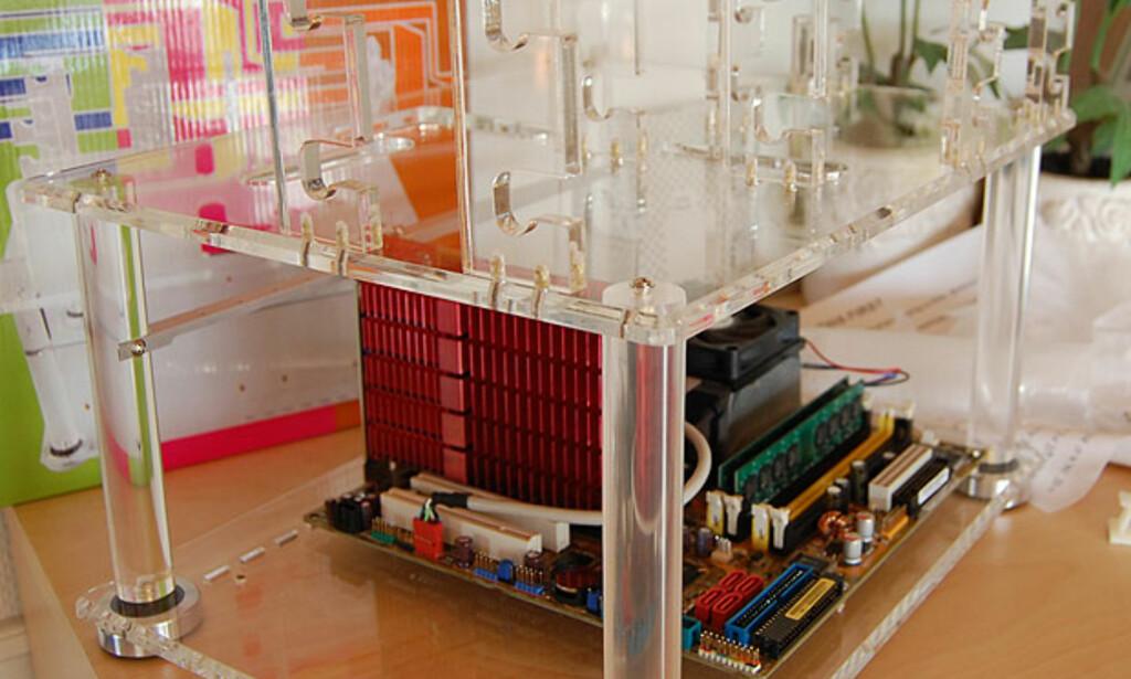 image: Slik bygde vi akryl-PCen
