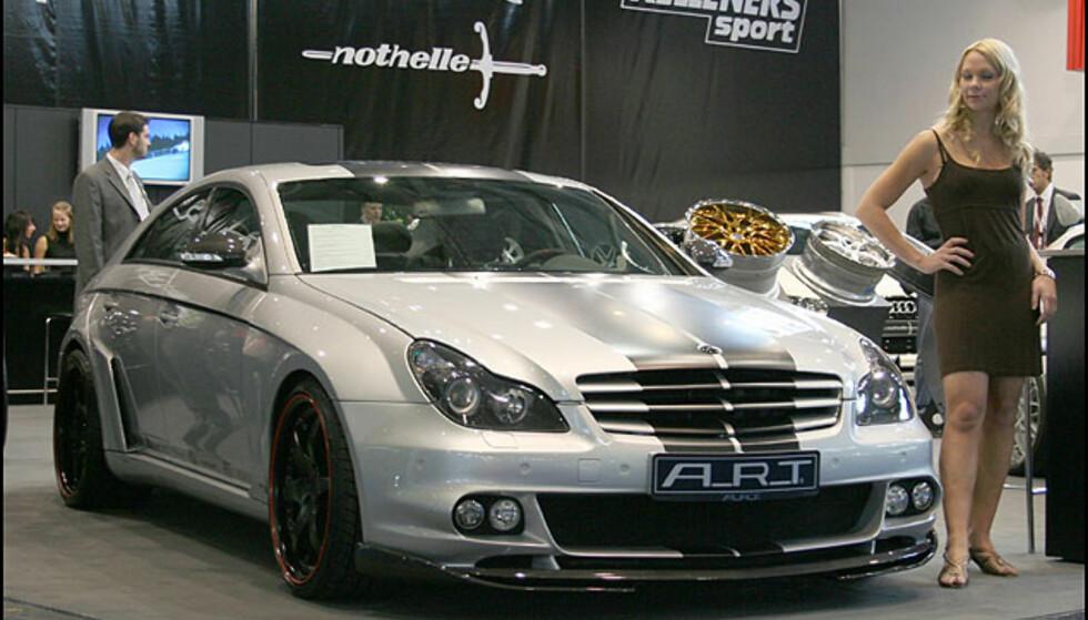 Mercedes CLS A.R.T.-trimmet til 620 hester
