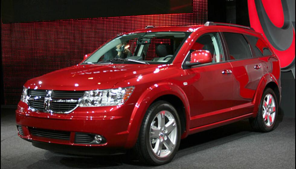 Familiefrakteren Dodge Journey. Krysning mellom SUV og flerbruksbil
