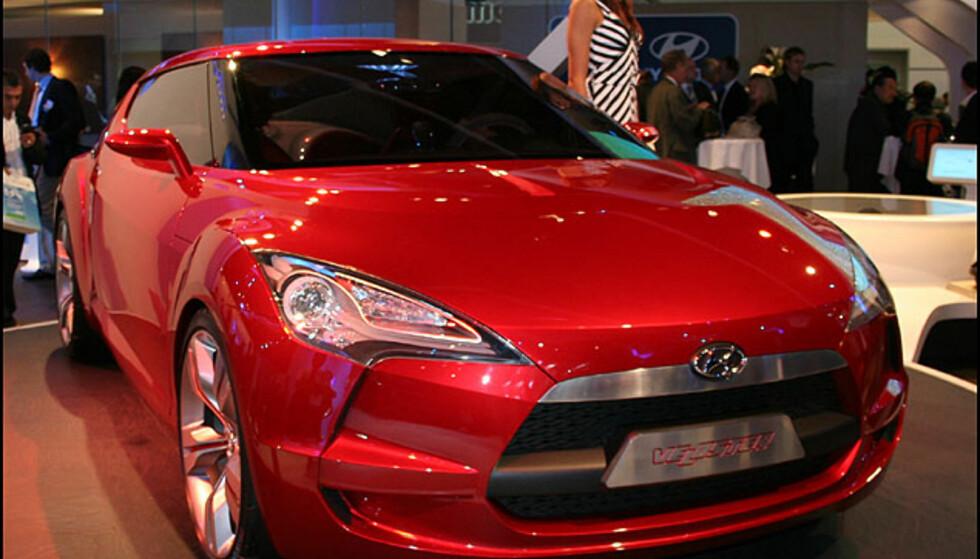Hyundai Veloster - sportskonsept
