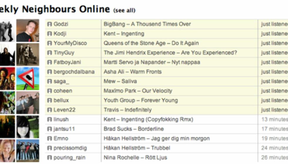 Last.fm - nettets beste musikktjeneste