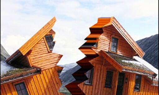 Mye tyder på at hyttemarkedet har revnet. Illustrasjon: Per Ervland