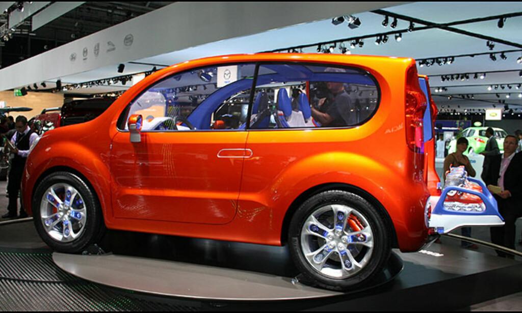 Renault Kangoo - her som kompakt konsept