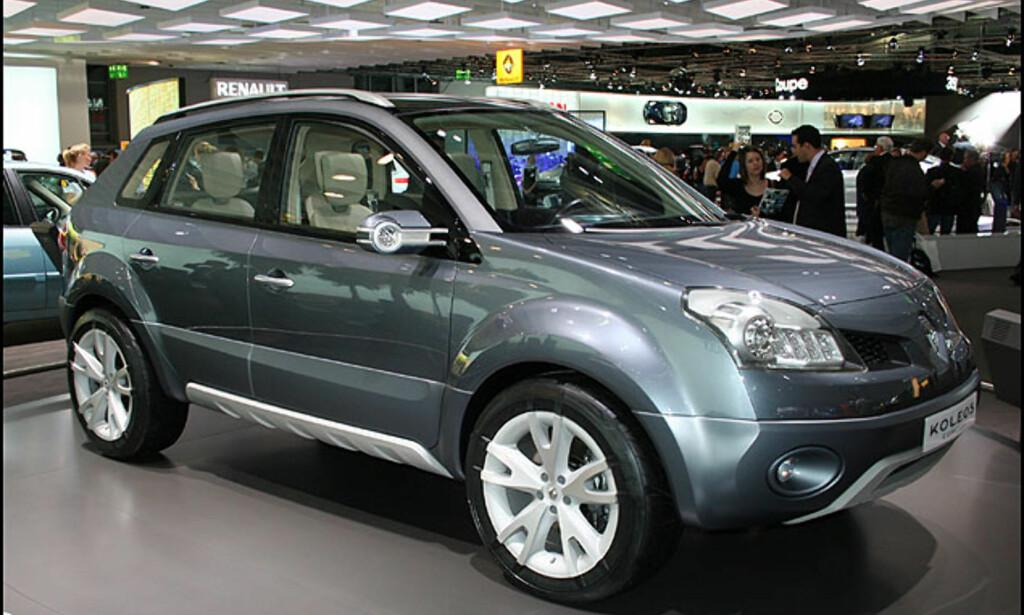 Folke-SUVen Renault Koleos - enn så lenge som konsept