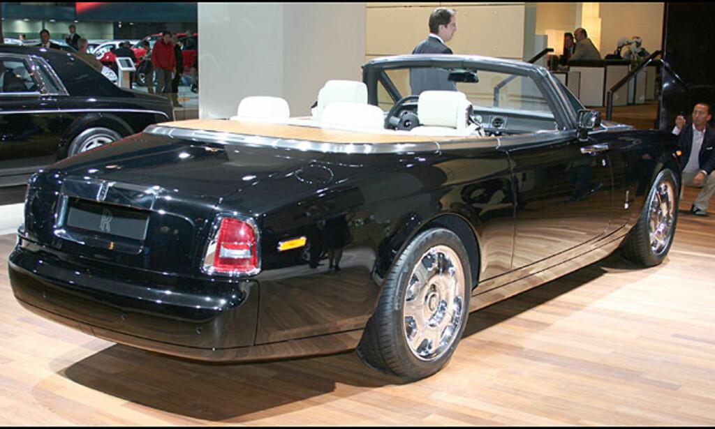 Luksuskabriolet fra Rolls-Royce