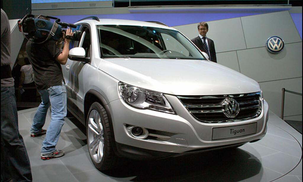 En av kompakt-SUV-utfordrerne fra Europa: VW Tiguan