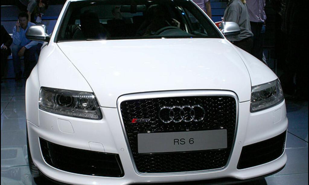 Audi RS6 - 10 sylindre, 580 hestekrefter