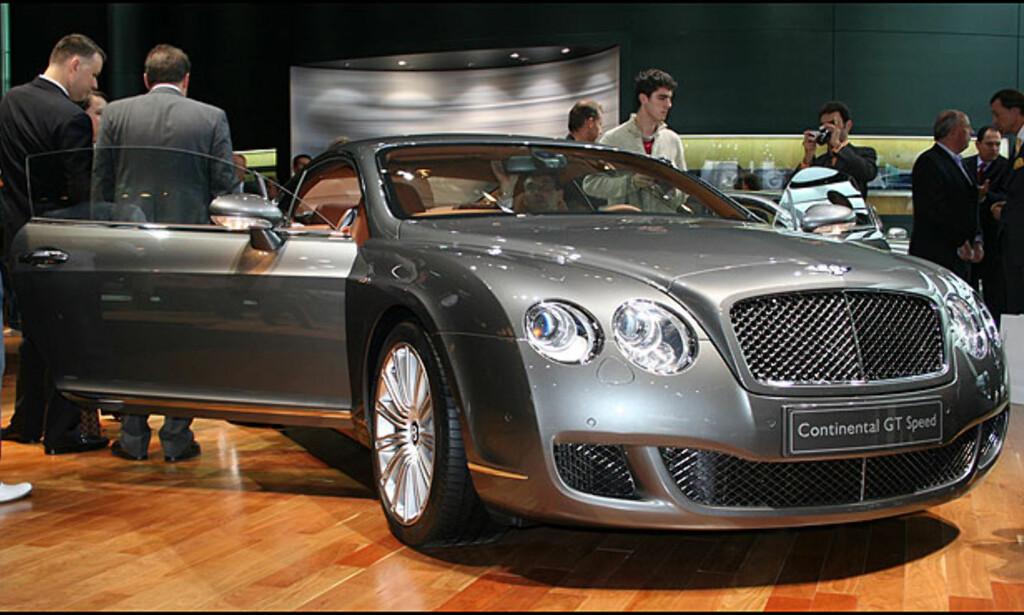 Bentley Continental GT Speed: 12 sylindre, 600 hestekrefter