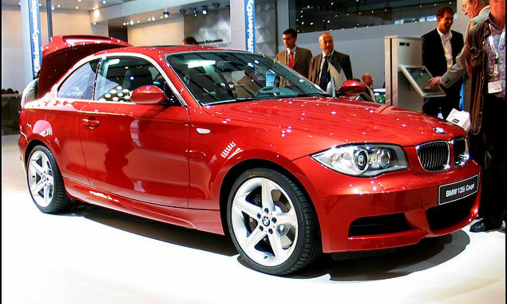 Nye BMW 1-serie kupé
