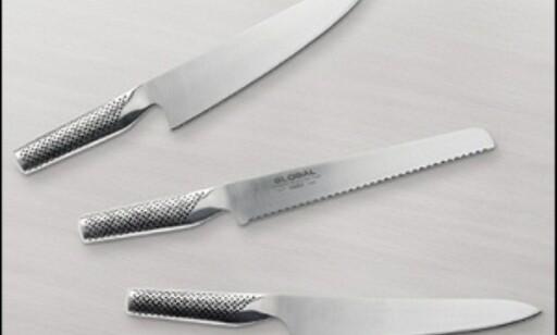 Globals kniver skåret høyt. Foto: Global