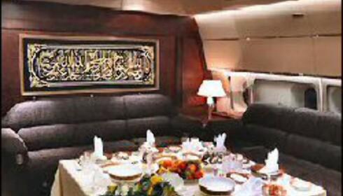 Merk! Bildene er generell bilder av interiøret i Boeing Business Jet. Foto: Boeing