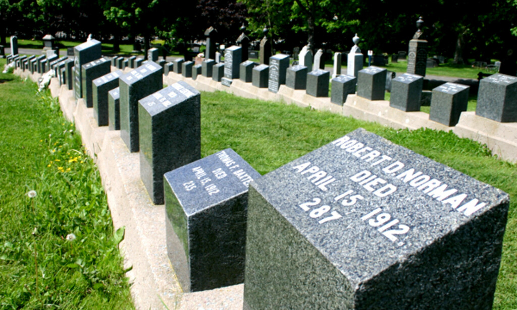 På Fairview Lawn Cemetery i Halifax ligger flere hundre titanic-offre gravlagt. Gravstedet er en av byens største turistattraksjoner. Foto: Kim Jansson