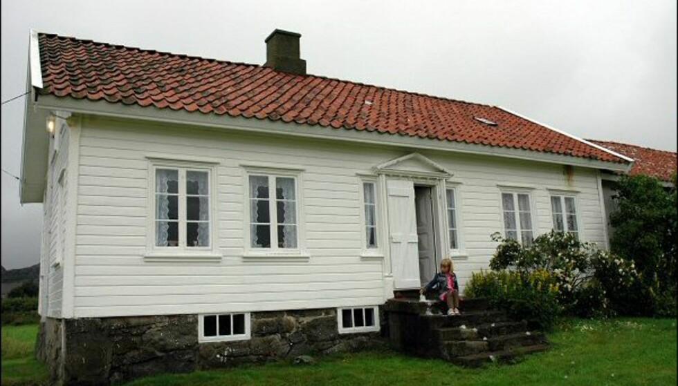 Martine-huset på Penne har fått navnet sitt etter ett av to søsken som bodde der. Huset er nå overtatt av Riksantikvaren. Foto: Tore Neset