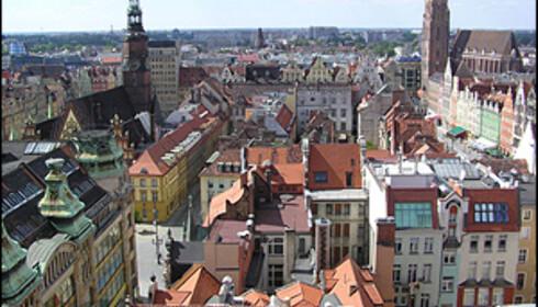 Wroclaw i Polen.