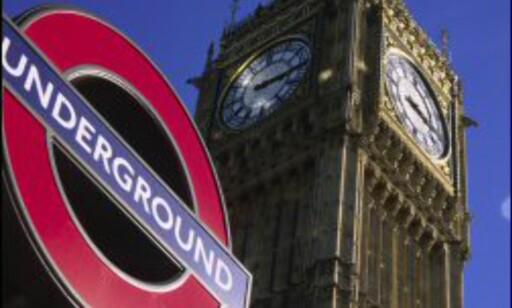 Tuben er kjappeste fremkomstmiddel i London. Foto: Britain on View