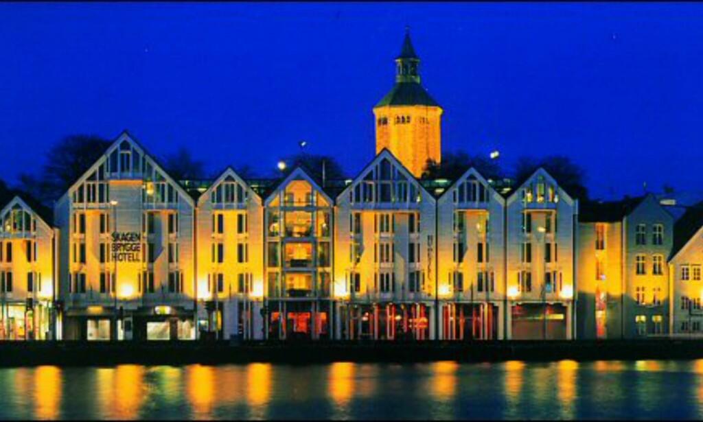 Skagenkaien i kveldslys. Foto: Region Stavanger
