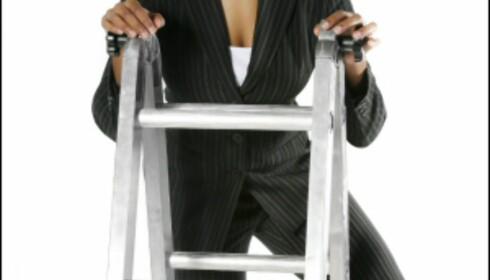 Ett trinn om gangen? Eller rett til topps? Mye handler om muligheter. Illustrasjonsfoto: iStockphoto.com Foto: iStock