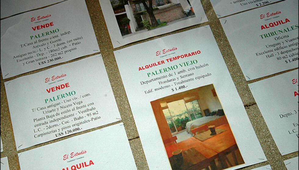 Det ligger mange indrefileter ute på det argentinske boligmarkedet, og den lave dollarkursen hjelper spesielt. En av dem kan kanskje bli din...Alle foto: Hans Kristian Krogh-Hanssen