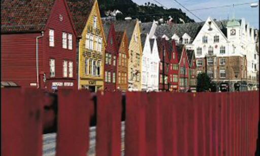 Bergen - Norges turistby nummer én. Foto: Gaby Bohle/Innovasjon Norge