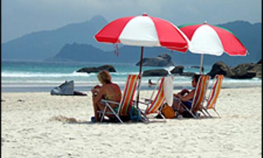 Paradisstrender i Brasil. Dette er Lopes Mendes på Ilha Grande.