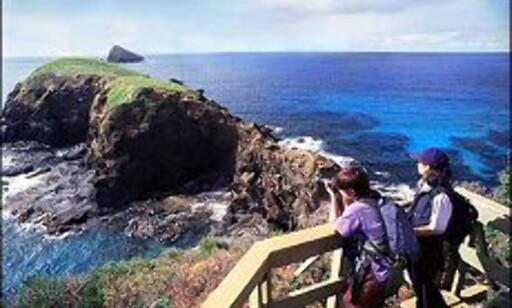 Gjør deg klar for ferieopplevelser! Her fra Lord Howe island. Foto: Lord Howe Island Tourism, Courtesy Tourism New South Wales
