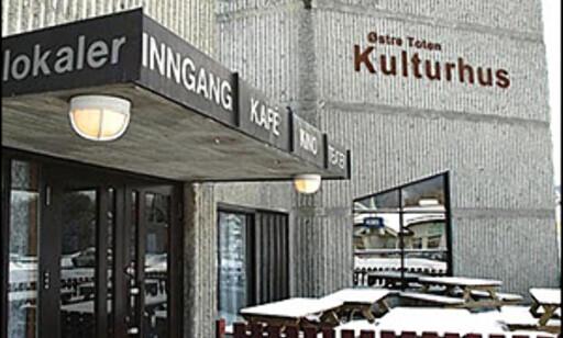 Østre-Toten kulturhus er ett av de 48 alternativene på listen.  Foto: Jan Frode Simensen