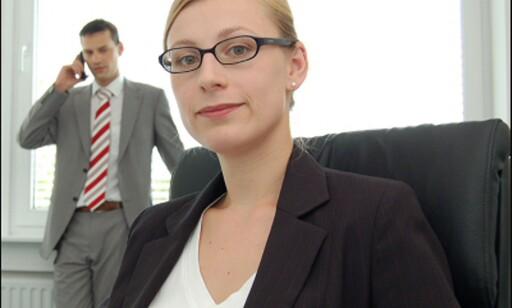 Ikke smart å ha alt for stort brystmål, om du har karrieren kjær... Foto: Constantin Kammerer