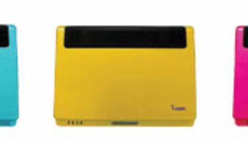 VIA Nanobook UMD kommer i flere forskjellige sterke farger.