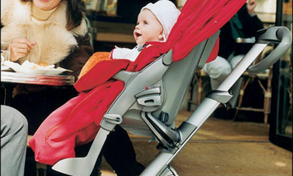 Førnevnte Shiloh Jolie-Pitt er bare ett av kjenedisbarna som har blitt trillet på i den norske trillevognen Stokke Xplory og übertrendy Nederlendere har utropt den til et CoolBrand.   Pris: cirka 6.500 kroner