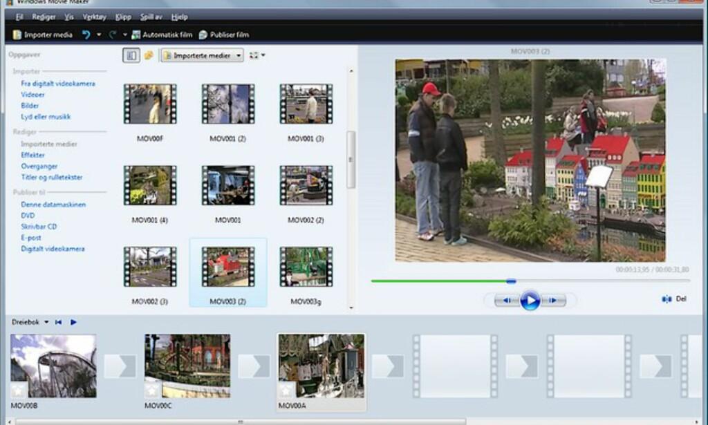 image: Windows Movie Maker