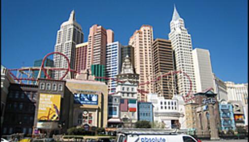 New York i miniformat - ett av de mer populære hotellene i Las Vegas.