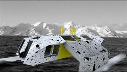 House. Ikke som andre husbåter. Illustrasjon: www.hallsteinguthu.com Foto: www.hallsteinguthu.com