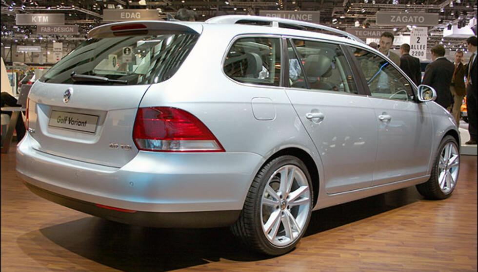 VW Golf stasjonsvogn